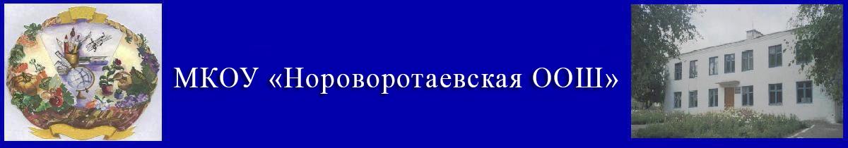 Нороворотаевская ООШ. Официальный сайт.